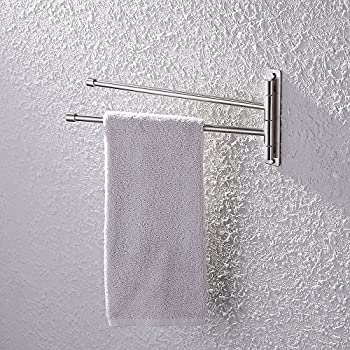 Amazon.com: Decko #38190 Swing Arm Kitchen Towel Rack