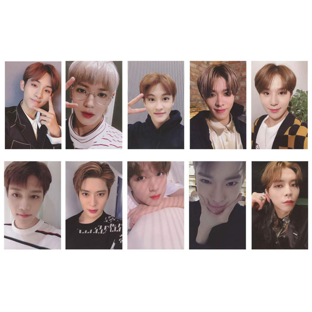 Skisneostype Kpop NCT EMPATHY Lomo Cards NCT127 NCT Dream Photocard Sticker Cards Set per fan NCT L-10pcs