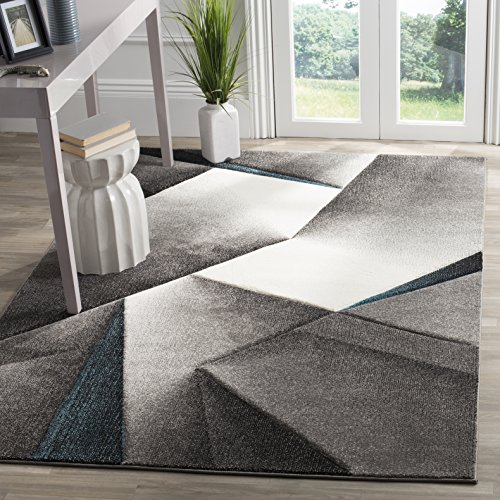 Mid Century Area Rugs: Amazon.com: Safavieh Hollywood Collection HLW714D Grey And