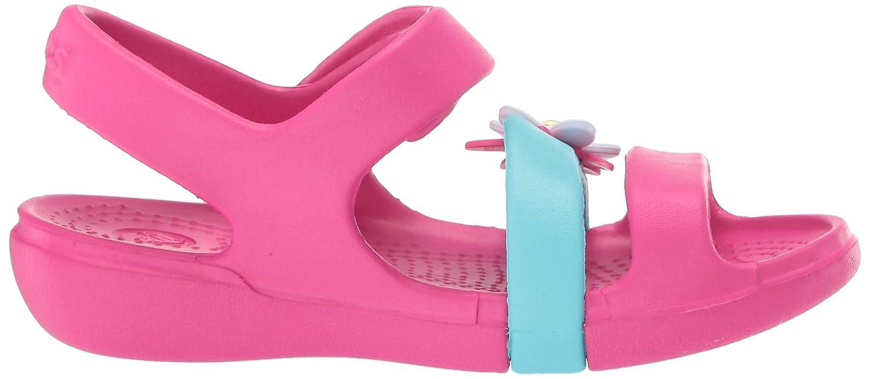 Crocs Kids Girls Keeley Charm Sandal
