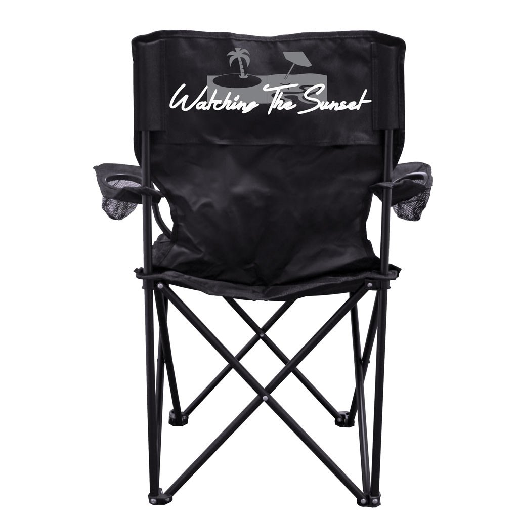 VictoryStore アウトドア キャンピングチェア - サンセットキャンプチェア キャリーバッグ付き   B0100PP16M