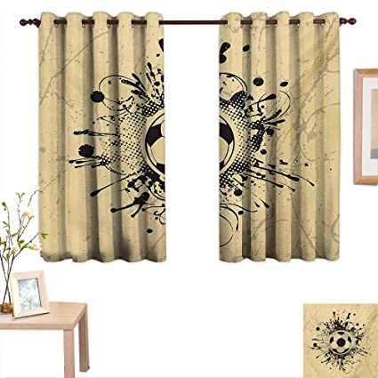 Amazon.com: Sports Decorative Curtains for Living Room ...