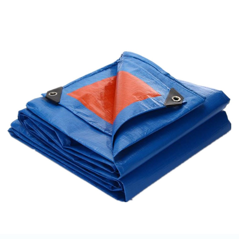 JIANFEI オーニング 防水耐寒性臭いがありませんThicken耐摩耗性ポリエチレン厚0.3mmカスタマイズ可能 (色 : Blue, サイズ さいず : 7.7x9.7m) B07FTM3MW4 7.7x9.7m|Blue Blue 7.7x9.7m