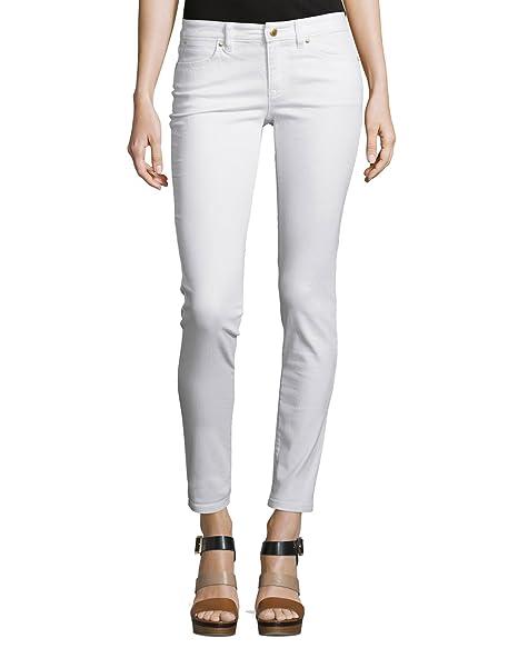 9f4795d49de9 MICHAEL Michael Kors Women's Skinny Jean (2 x One Size, White) at ...