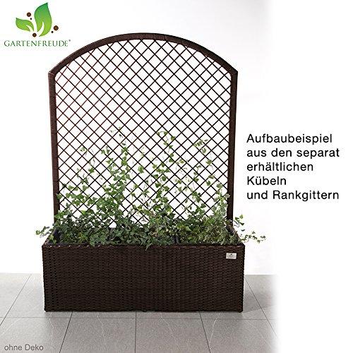 GARTENFREUDE Pflanzkübel Pflanzgefäße Blumenkübel Blumentopf für ...