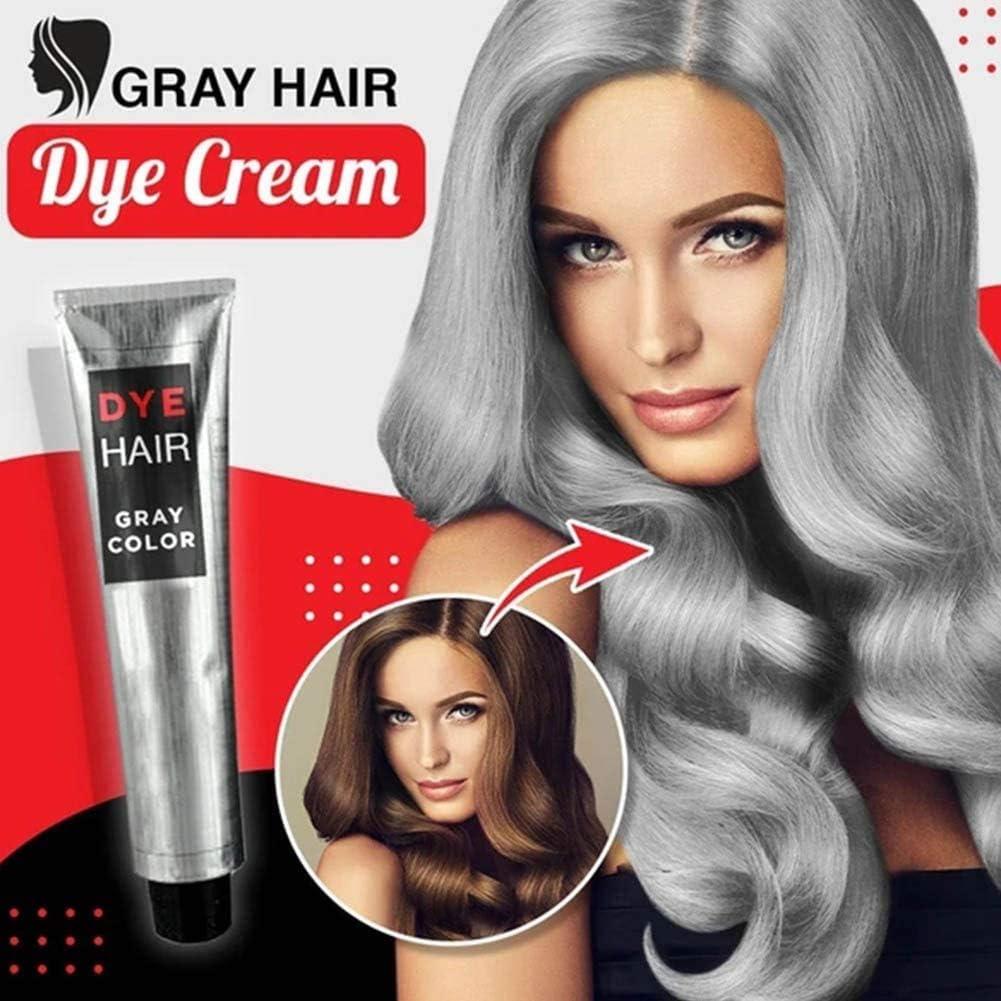 Gel de tinte permanente para el cabello gris ahumado unisex ...