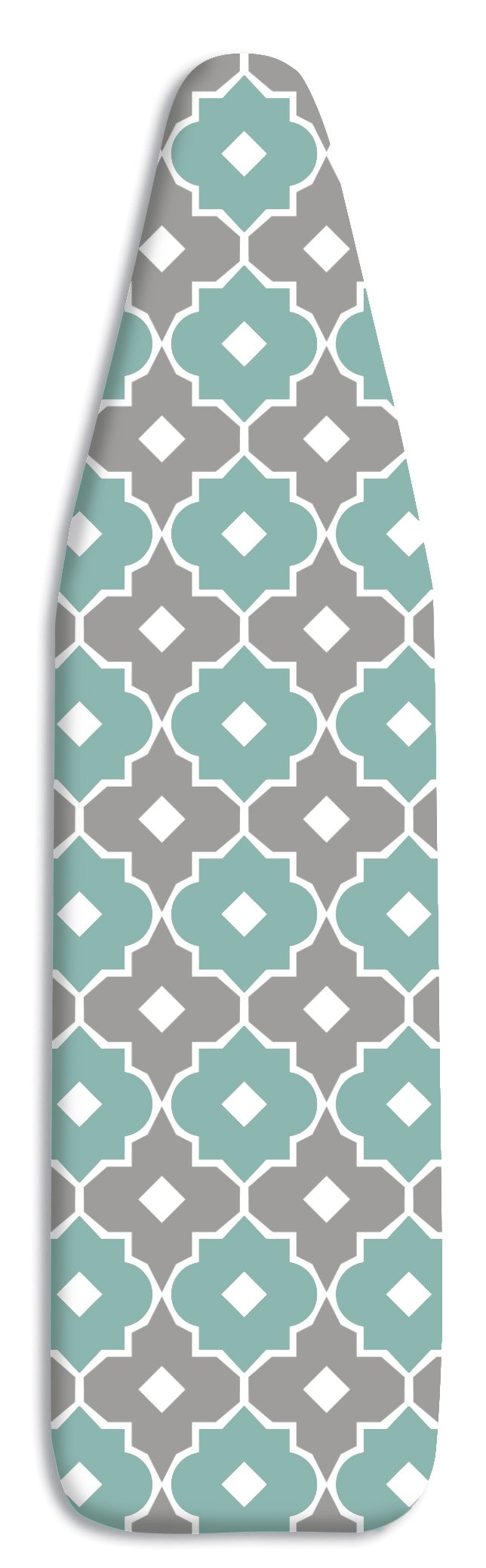 Whitmor Supreme Ironing Board Cover and Pad, Paragon Taupe/Gray