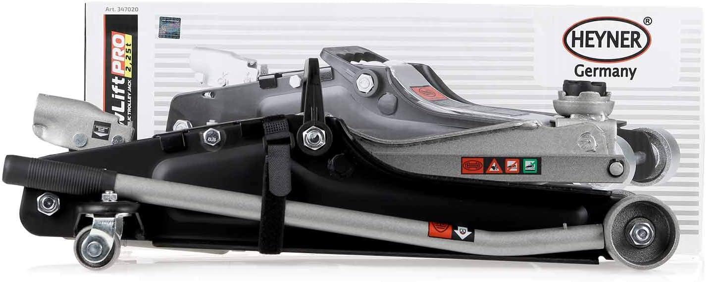 HEYNER/® 347020 Rangierwagenheber Wagenheber hydraulisch extra flach 2,25 Tonnen