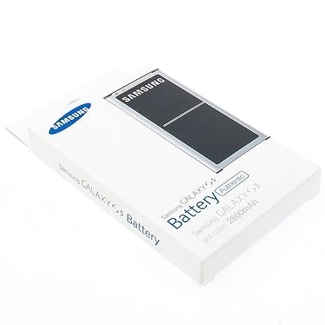 41c957530e5a5f Original Samsung Galaxy S5 Akku EB-BG900 Li-Ion Standard Akku Batterie  Blister OVP (2800mAh)