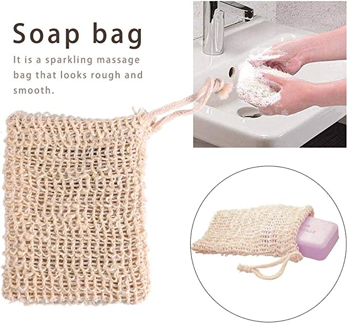 bouncevi [Paquete de 5 Bolsa de jabón para desechos y jabones de ...