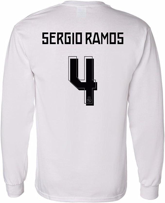 Amazon.com: tcamp Camisa de la Real Madrid Sergio Ramos # 4 ...