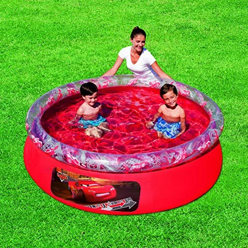 Bestway 91026 - Piscina Desmontable Autoportante Infantil Cars ...