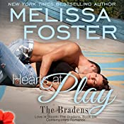 Hearts at Play : Love in Bloom: The Bradens, Book 6 | Melissa Foster