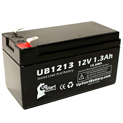 Mercedes-Benz N000000004039 Battery - Replacement UB1213 Universal Sealed  Lead Acid Battery (12V, 1 3Ah, 1300mAh, F1 Terminal, AGM, SLA) - Includes