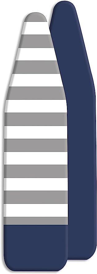 Bleu Marine /à Rayures Whitmor Standard Housse de Planche /à Repasser et Pad