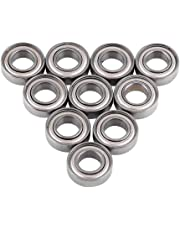 Steel Ball Bearings, Asixx 10pcs 688ZZ Miniature Ball Bearings Metal Double Shielded Bearing 8x16x5mm Great for 8mm Shaft/Rod Projects(10Pcs)
