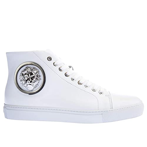 Versus Versace, Sneaker Uomo, (White Nickel), 40 EU: Amazon ...