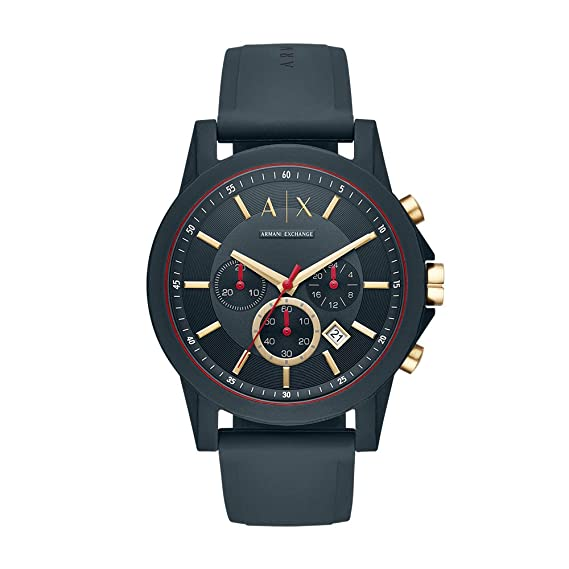 893227b19f54 Buy Armani Exchange Analog Blue Dial Men s Watch - AX1335 Online at Low  Prices in India - Amazon.in