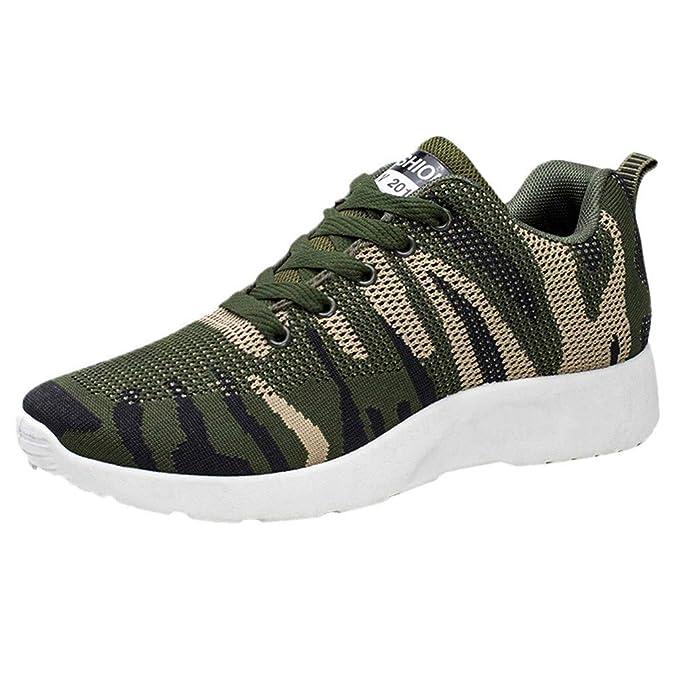 iHAZA Elegante Uomo Outdoor Mesh Casual Sport Scarpe Running Traspirante  Scarpe Sneakers  Amazon.it  Abbigliamento df7fc518aac