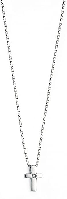 D for Diamond Star Pendant on a 35cm Chain crl5qpQR
