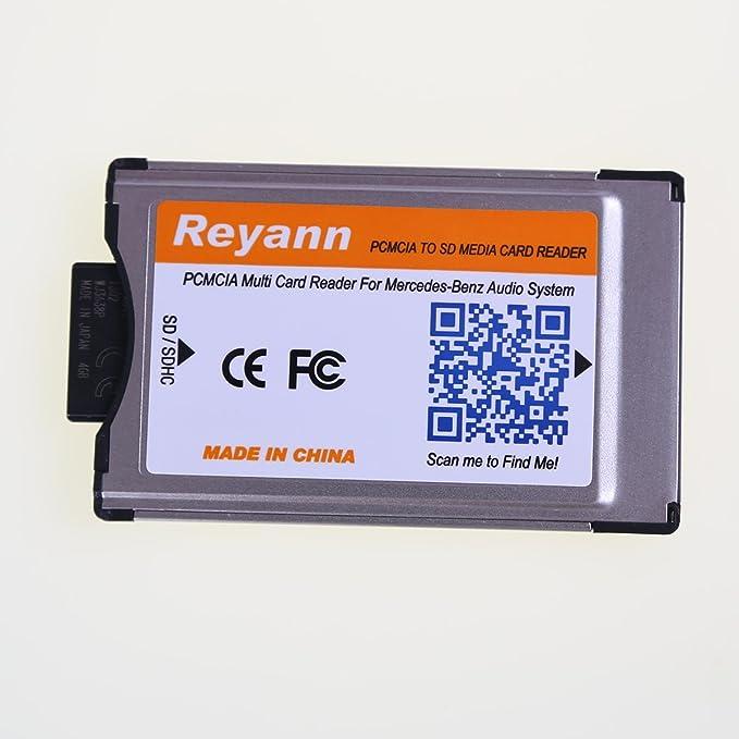 Amazon.com: reyann PCMCIA to SD/SDHC Card adaptador ...