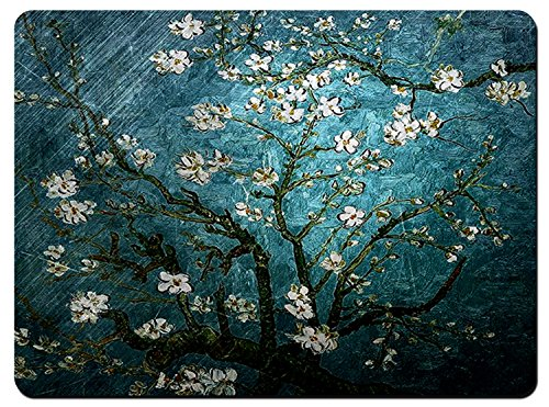 (Meffort Inc Gaming 13.75 x 10.25 inch Mouse Pad XL Mat - Vincent van Gogh Almond Blossoming)