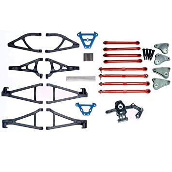 Traxxas 7023A 1//16 Steel Bulkhead Tie Bars Front and Rear
