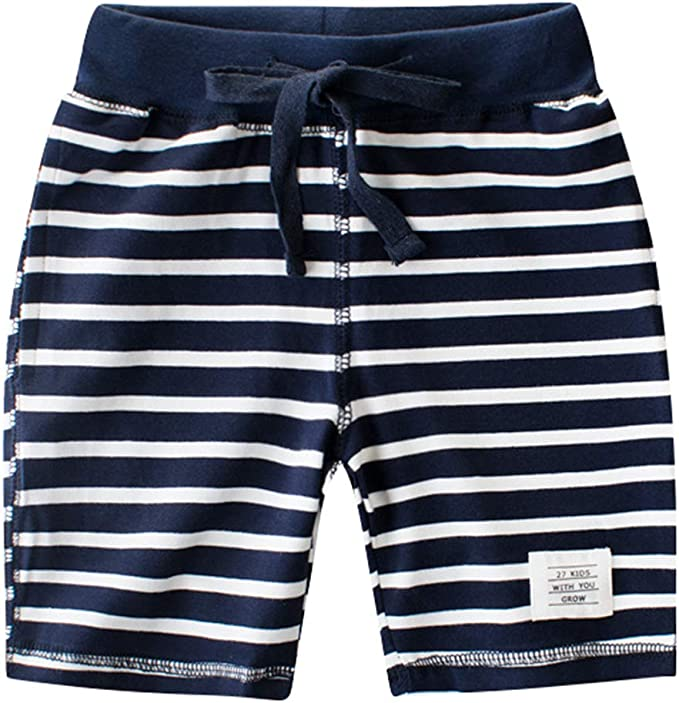 MARRYME Shorts Garçon en Coton Pantalon Court