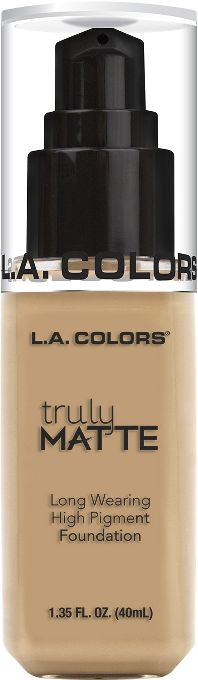 L.A. Colors Truly Matte Foundation- Natural