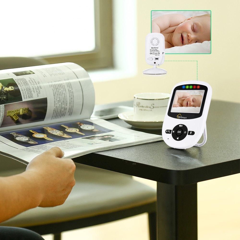 iLifeSmart Vigilabebés Inalambrico Bebé Monitor 2.4