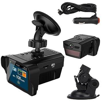 Coche DVR, ourmall 2.0 TFT HD coche electrónico perro Radar Detector espejo retrovisor vehículo cámara grabadora de vídeo, G-sensor: Amazon.es: Electrónica