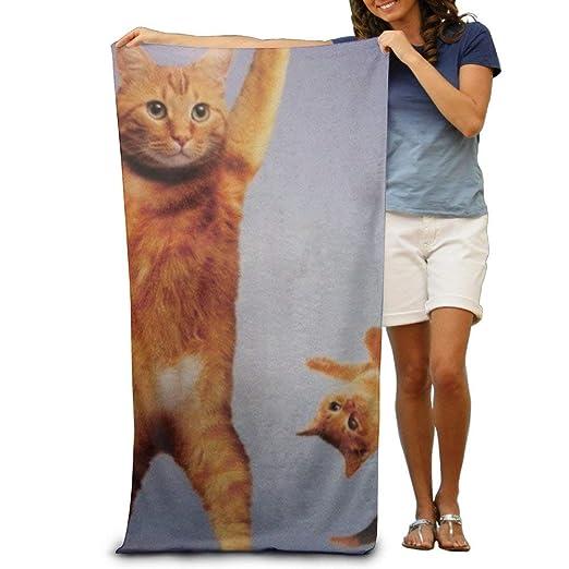 Beach Towel Cats Doing Yoga Poses Microfiber Towel 31x51 ...