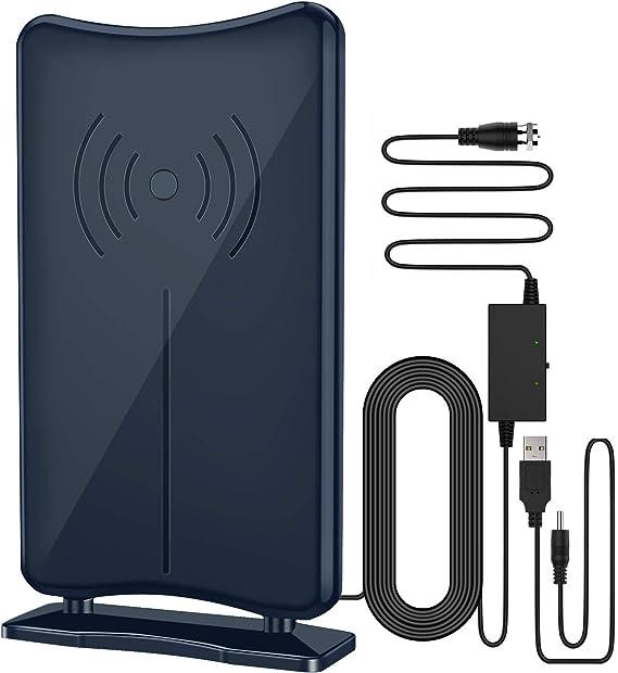Antena de TV, antena KKUYI de 5.20 m, antena de TV de tiempo ...