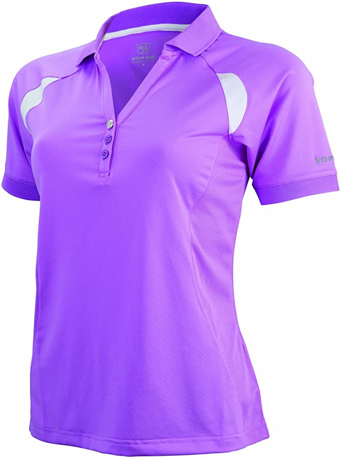Wilson Staff Textil Golf Lady Performance Polo - Polo para Mujer ...