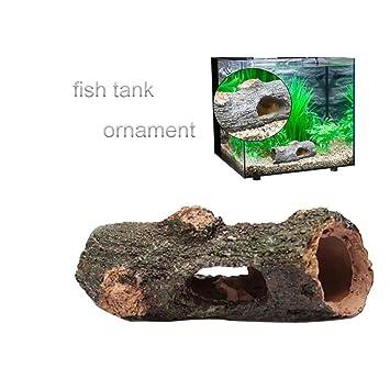 UEETEK Acuario Artificial Árbol de adorno Root Drift Wood para Fish Tank Camarones Cangrejo Decoración