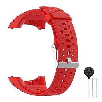 Cyeeson Polar M400/M430 Correa Reloj Silicona Blanda Ajustable Banda de Pulsera de Gel Brazalete de Repuesto para Polar M400/M430: Amazon.es: Deportes y ...