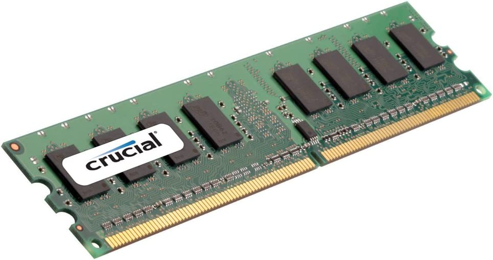 Crucial 8GB Single DDR2 667MHz (PC2-5300) CL5 Registered RDIMM 240-Pin Server Memory CT102472AB667