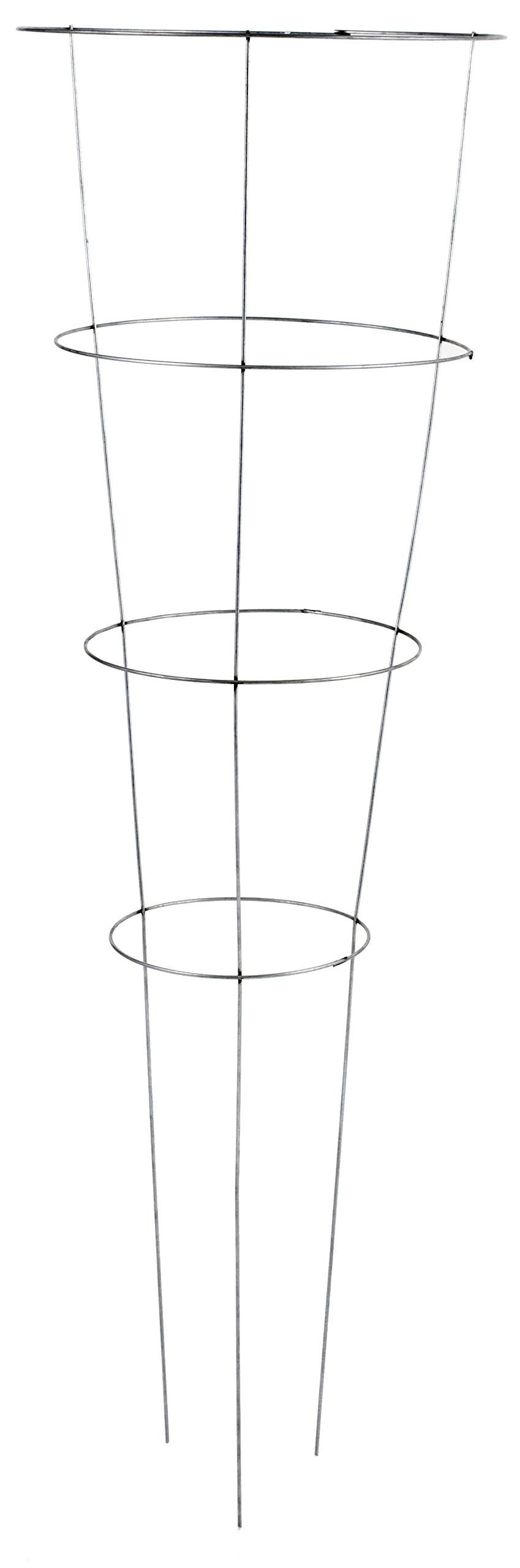 Economy Galvanized Tomato Cages (775 pallet) 42'' Silver