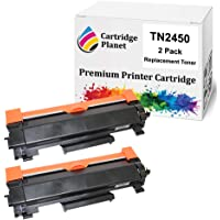 Cartridge Planet 2-Pack Compatible Toner Cartridge for Brother TN-2450 TN2450 (3,000 Pages) for Brother HLL2350DW…