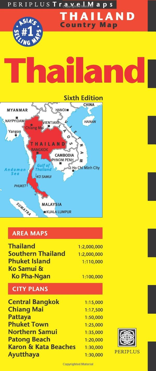 Download Thailand Travel Map Sixth Edition pdf