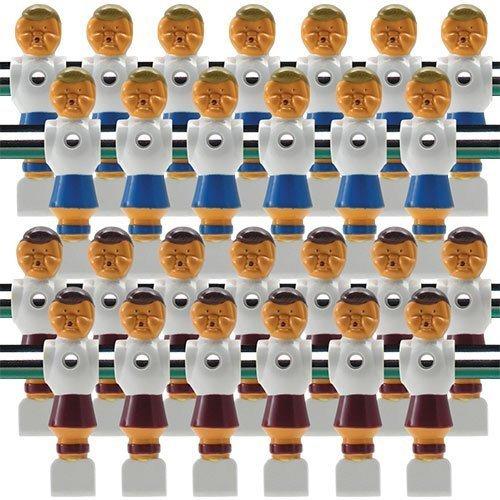 26 old style rot und blau Fußball, Männer von Billard Evolution