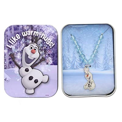 Frozen Neacklace: Olaf I Like Warm Hugs!: Toys & Games