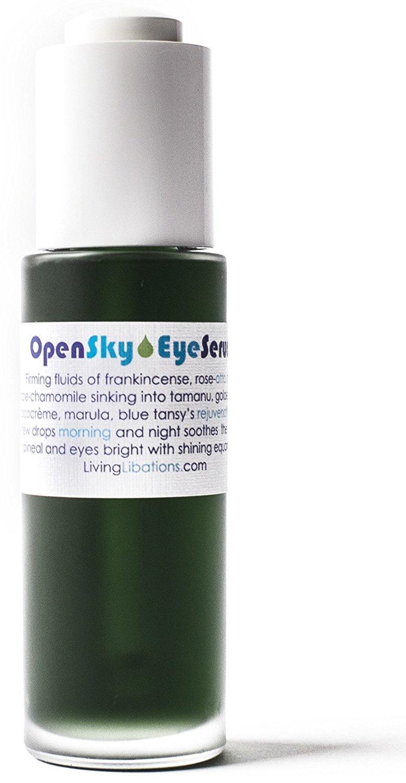 Living Libations - Organic/Wildcrafted Open Sky Eye Serum (1 oz / 30 ml)