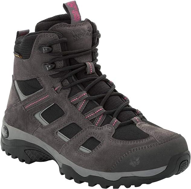 Jack Wolfskin VOJO HIKE 2 TEXAPORE MID W, wasserdichte Damen Wanderschuhe, leichte Outdoor Schuhe für Tagestouren, atmungsaktive Hikingschuhe für