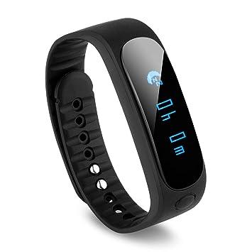 Diggro Sw19 - Smartwatch Bluetooth Pulsera Deportiva (Ip67 Impermeable, Podómetro, Control Remoto de Cámara y Reproducción, para Gimnasia Salud ...