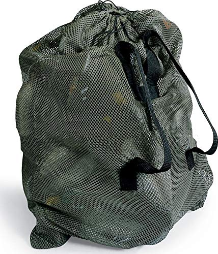 UNISTRENGH Army Green Mesh Decoy Bag With 2 Shoulder Straps Hunting Carry Duck/Goose Decoys Backpack Goose (Army green)