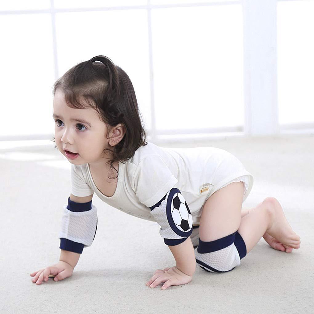 LOVARTS BEAUTY Newborn Baby Safety Crawling Elbow Cushion Knee Pads Cute Cartoon Animal Leg Warmers Baby Kneepad
