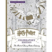 Harry Potter Coloring Book: Celebratory Edition: The Best of Harry Potter Coloring