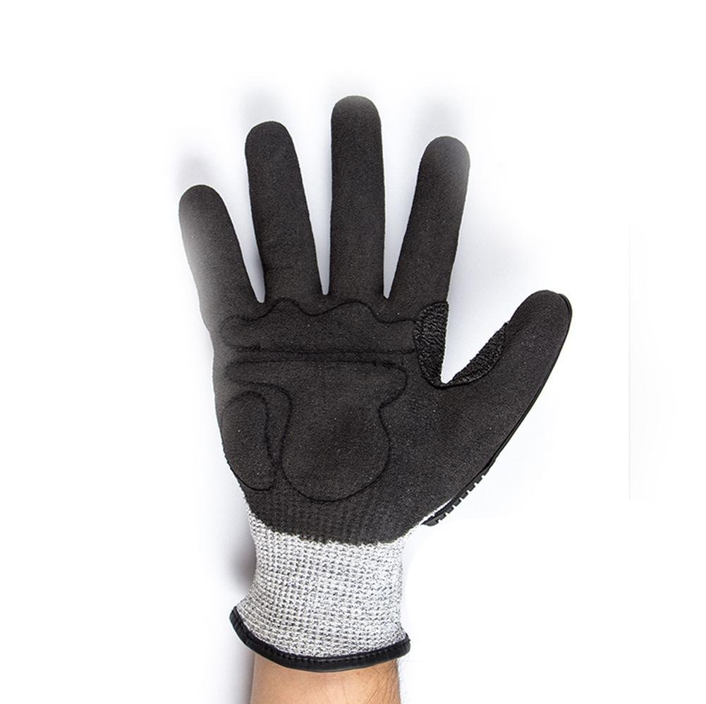 Anti - cross - country motorcycle gloves male racing knight anti - cutting all - finger gloves security protection by LIXIANG (Image #2)