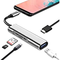 USB Type-C to 4K HDMI Adapter DeX Staton & DeX Pad Alternative for Samsung Galaxy S9/S8Plus/Note8/Note 9/Tab S4 Deskop Experience,Portable Multiport Dock for Nintendo Switch,MacBook Pro/Air 2018